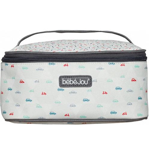 Bébé Jou beautycase kosmetická taška s odepínacím víkem Wheely B3107108