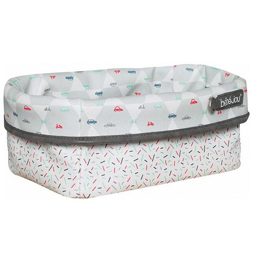 Bébé Jou textilní košík na kojenecké potřeby Wheely B3101108