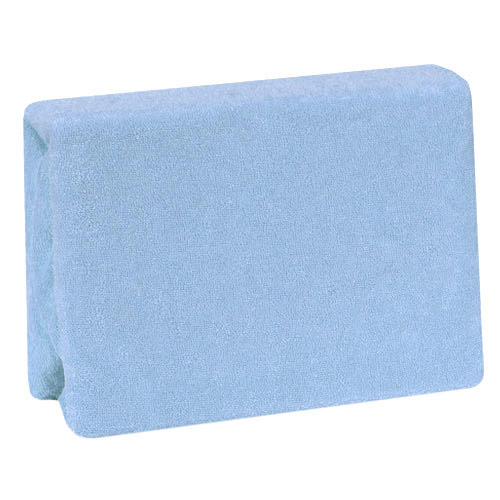Duetbaby nepropustné froté prostěradlo 60x120 cm modré DB-013-M