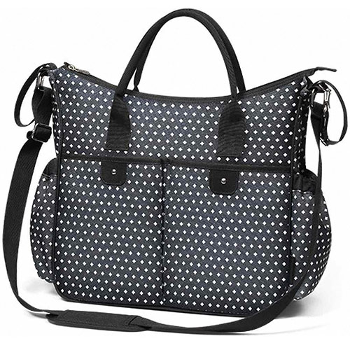 Baby Ono taška na kočárek So City černá vzor 1423/07