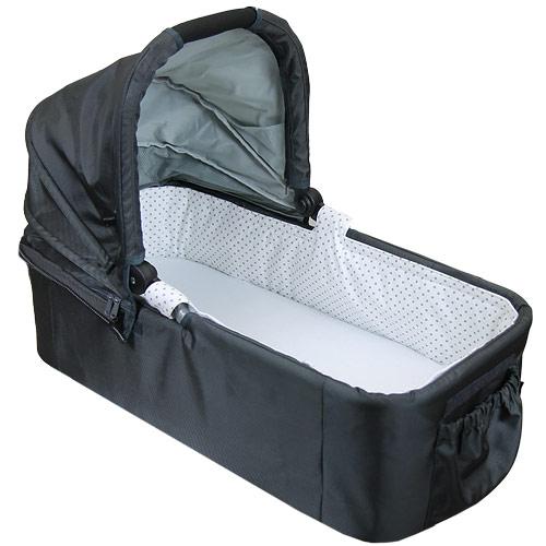 Babyrenka hygienická vložka pro korbu Easy Wolker Puntík šedý HVEWPS290
