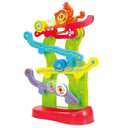 Teddies Opičí dráha s kolečky na baterie 18m+ 2239