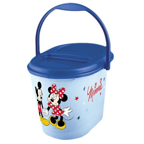 Keeeper kyblík na pleny s víkem Mickey and Minnie modrý 1180061414100