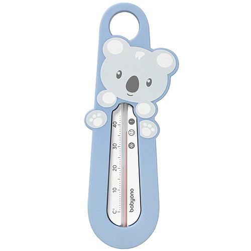 Baby Ono dětský teploměr koupelový Míša modrý 5901435408889