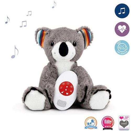 Zazu šumící zvířátko s tlukotem srdce a melodií koala COCCO 0+ ZA-COCO-01-ZAZU