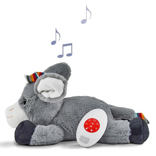 Zazu šumící zvířátko s tlukotem srdce a melodií oslík 0+ ZA-DON-01-ZAZU