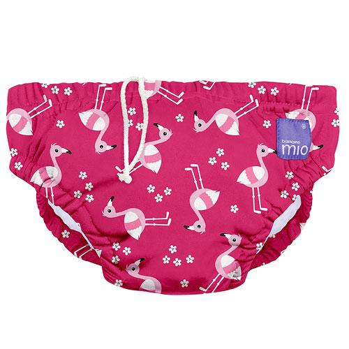 Bambino Mio koupací kalhotky M 7-9kg Pink Flamingo SWPM PKFL