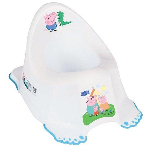 Tega baby Peppa Pig nočník s protiskluzem modrý PP-001-103-N