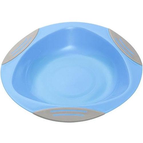 Baby Ono dětský plastový talíř 16 cm s přísavkou modrý BO1062MO