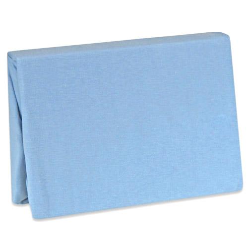 Duetbaby nepropustné jersey prostěradlo 60x120 cm modré DB-115-m