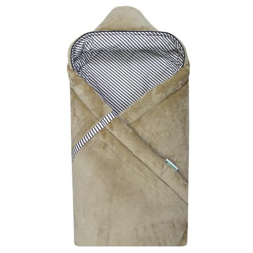 Babyrenka Zavinovačka 85x85 s kapucí Polar Aneta beige R85PAB355