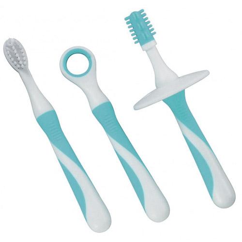 Dentistar sada dětských kartáčků na zuby 3ks +6m 33147