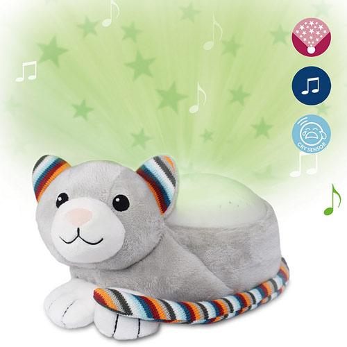 Zazu projektor noční oblohy s uklidňujícími melodiemi kočka Kiki ZA-KIKI-01