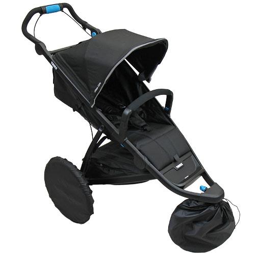 Babyrenka návleky na kola kočárku Thule Urban Glide 3 ks s taškou NKTG170