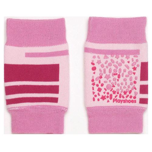 Playshoes protiskluzové nákoleníky růžové 35-498803R