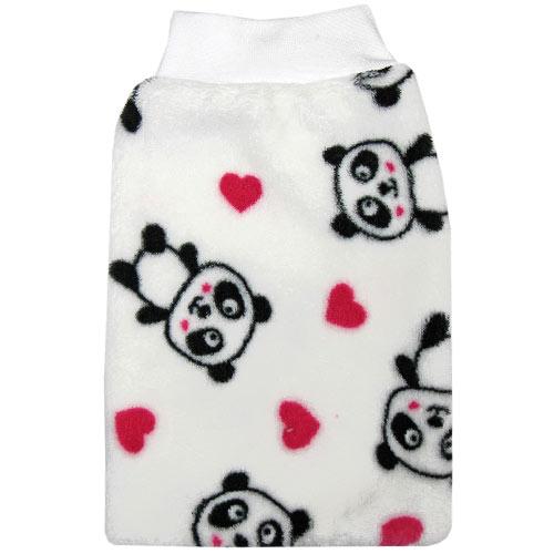 Babyrenka dětská žínka Polar 16x27 cm velká Panda ZT024P