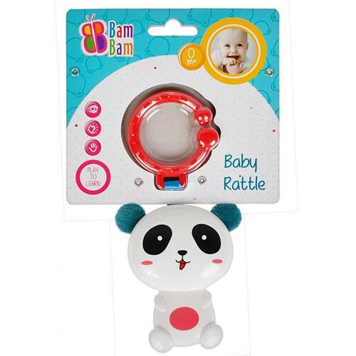 Bam Bam chrastítko na zavěšení Panda 428966