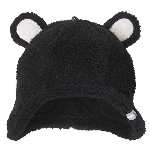 Lodger Hatter čepice Teddy Black 3-6 m 34869