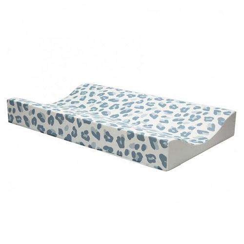 Bébé Jou přebalovací podložka Leopard Blue 70x44 cm 2020 6800122