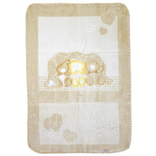 Baby Perla španělská deka 80x110 543 béžová dek543/bez