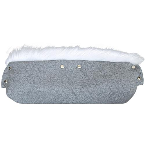 Babyrenka Rukávník přepínací Softshell Lux šedý melír RPLSM303
