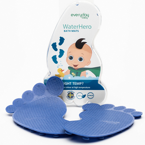 Everyday Baby protiskluzové ťapky s tepelným senzorem 4 ks Blue modré EB10133