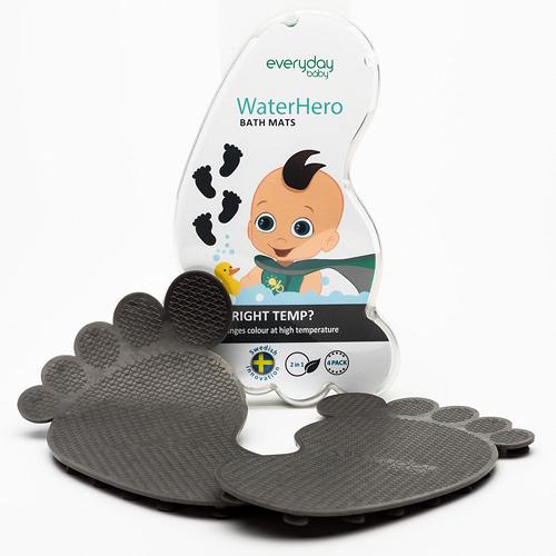 Everyday Baby protiskluzové ťapky s tepelným senzorem Grey šedé EB10131
