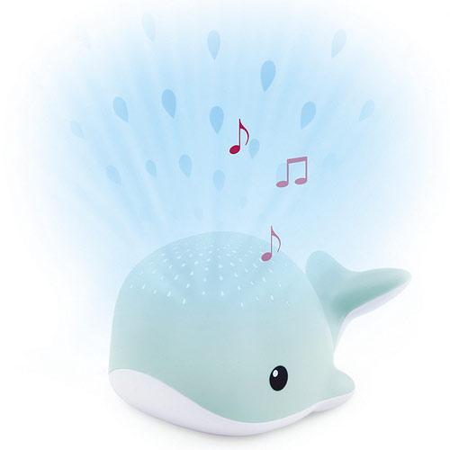 Zazu Velryba WALLY modrá noční projektor s melodiemi ZA-WALLY-02