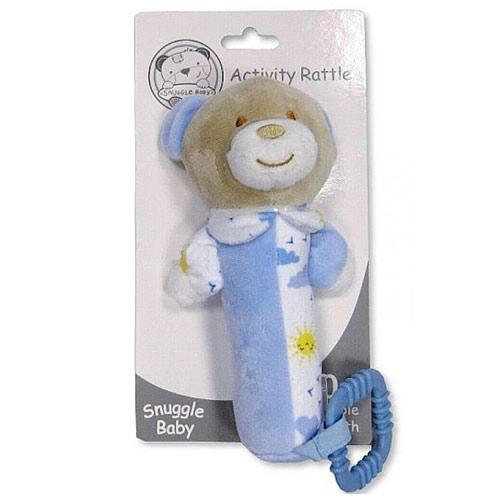 Snuggle baby plyšové chrastítko činka Méďa GP25-0872