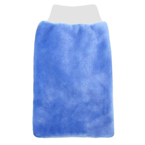 Babyrenka žínka Flanel Fleece s nápletem 25x16 cm Blue ZT036B