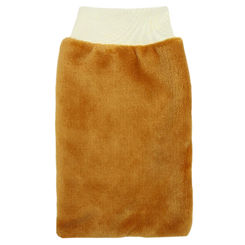 Babyrenka žínka Flanel Fleece s nápletem 25x16 cm Honey ZT036H