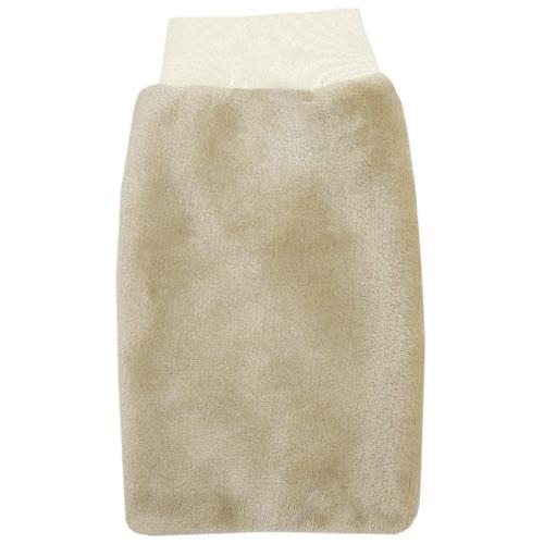 Babyrenka žínka Flanel Fleece s nápletem 25x16 cm Sand ZT036S