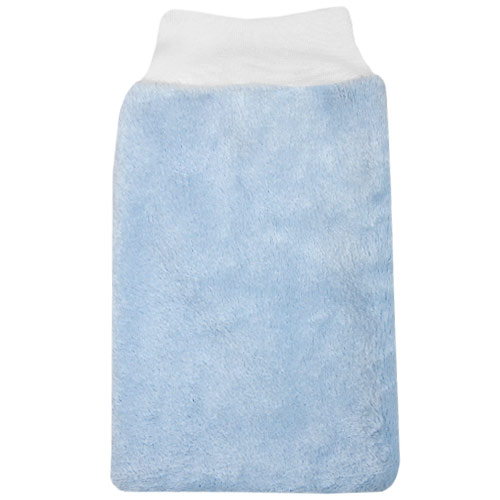 Babyrenka žínka Polar Fleece s nápletem 25x16 cm Sky blue ZT034SB