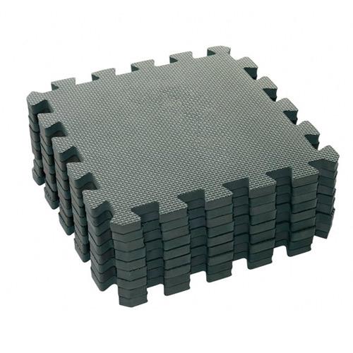Baby Dan hrací podložka 90x90 cm Puzzle Dusty Grey BD1000-20