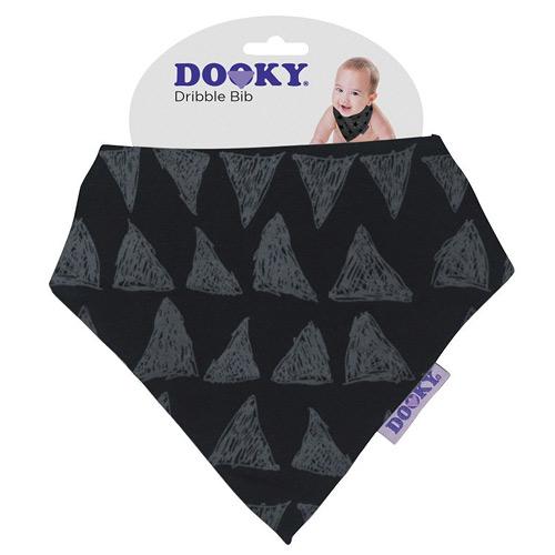Dooky slintáček Dribble Bib Black Tribal 126908