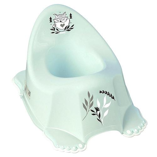 Tega Baby nočník protiskluzový hrající Plus Baby Liška mátový PO-LIS-050-1105