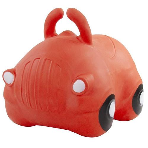 Sunbaby skákací míč autíčko červené J06.010.1.1