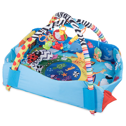 Lionelo hrací deka Anika Plus 2v1 s mantinelem LOE-ANIKAPLUS