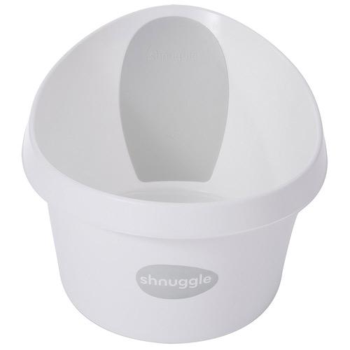 Shnuggle vanička Toddler bílá se světle šedou opěrkou 37513LG