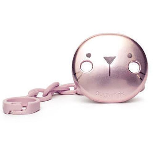 Suavinex klip na dudlík Premium Hygge růžový 3162103H-1
