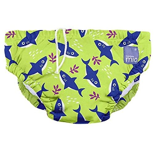 Bambino Mio koupací kalhotky L 9-12 kg Neon Shark SWPL SHA