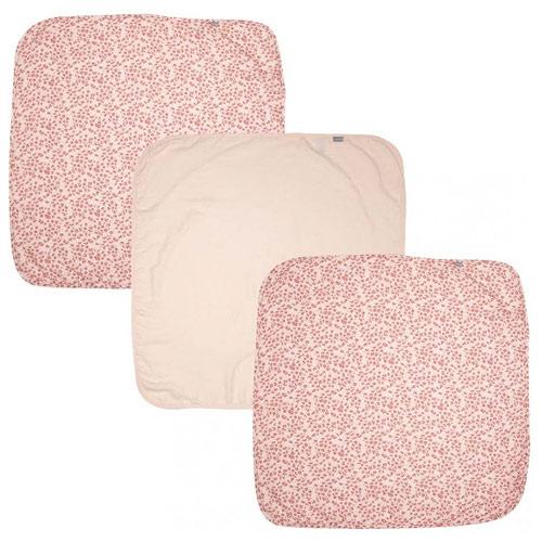 Bébé Jou plena mušelínová 70x70 cm 3 ks Leopard Pink B3051123