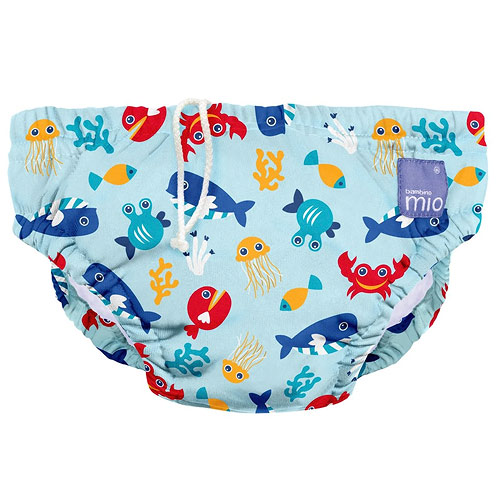 Bambino Mio koupací kalhotky XL 12-15 kg Deep Sea Blue SWPXL DSB