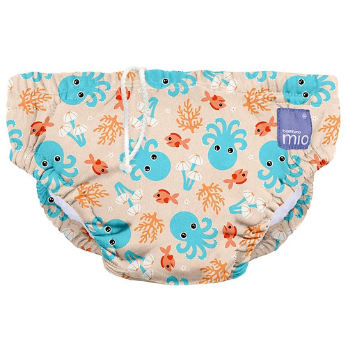 Bambino Mio koupací kalhotky XL 12-15 kg Blue Squid SWPXL BSQ