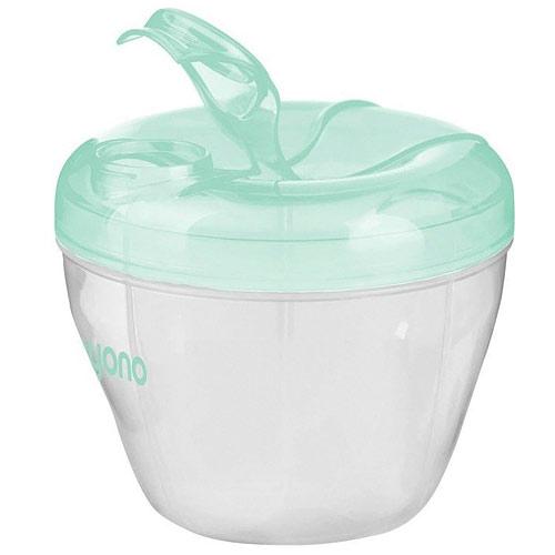 Baby Ono zásobník na sušené mléko transparentní mátový 1022BOM