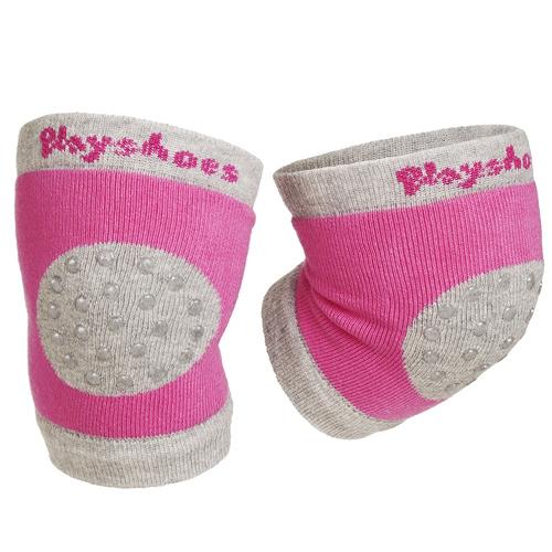 Playshoes protiskluzové nákoleníky růžové 35-498804R