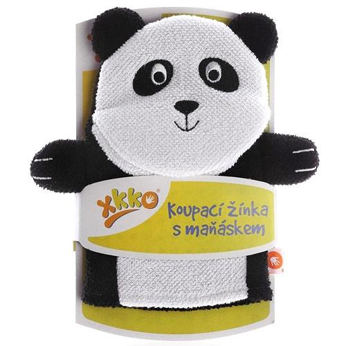 Xkko žínka s maňáskem Panda CTNBG028