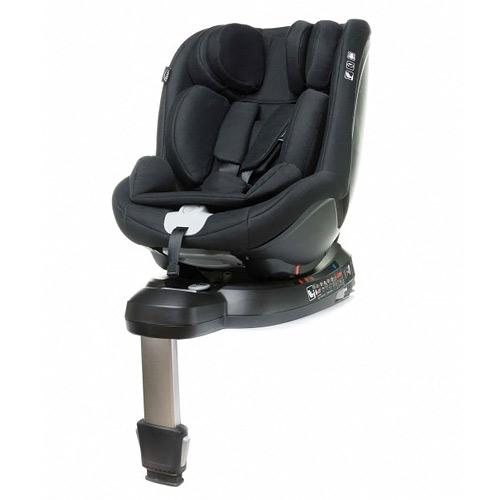 4baby autosedačka 0-18 kg Nano-Fix 2020 Black 469095