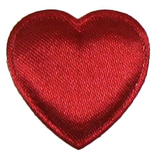 Nášivka Srdce červené NSC2