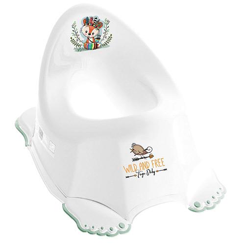 Tega Baby nočník protiskluzový hrající Divoký Západ Liška bílý PO-075-103-L